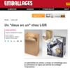 LGR Packaging - Juin 2018 - E-commerce