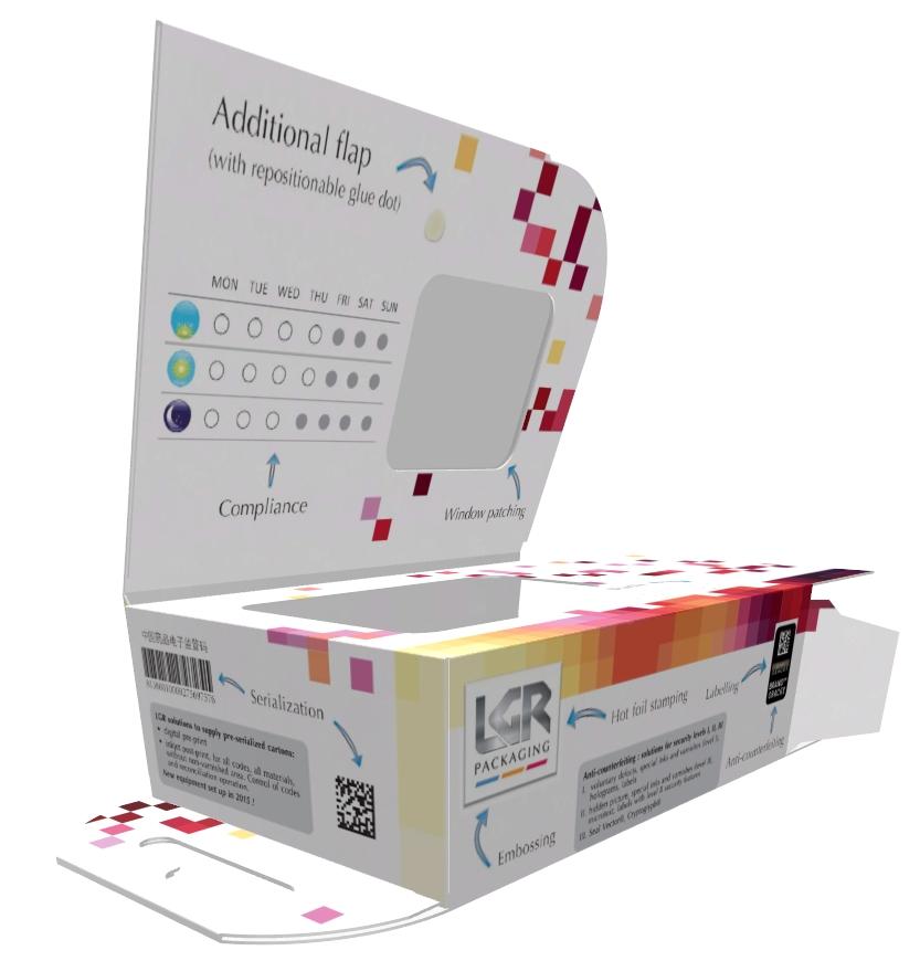 LGR Packaging - étuis en carton compact