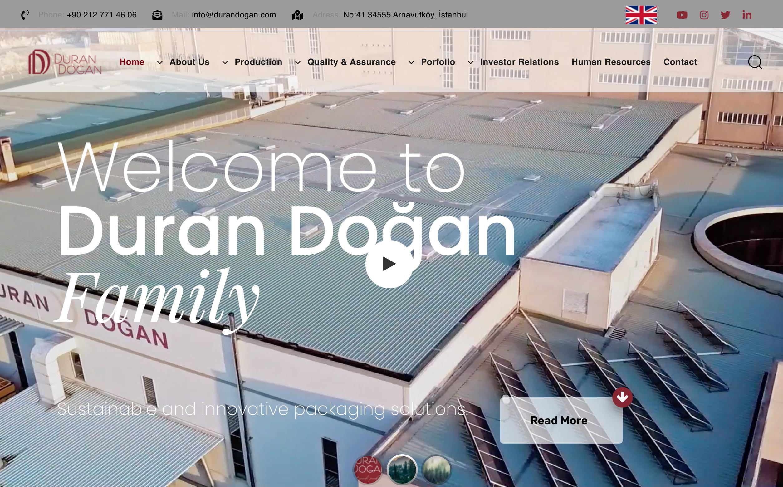 Website Duran Dogan